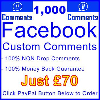 db-B2B-UK 1,000 FB Comments 70GBP: Visitor Support Sales Banner