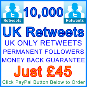 db-B2B-UK 10,000_UK_Retweets_45_gbp: Service Type Sales Support Banner