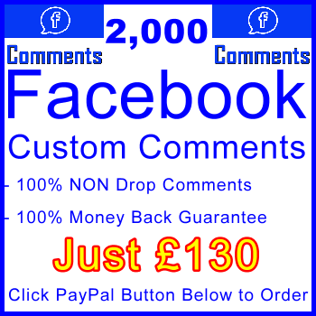 db-B2B-UK 2,000 FB Comments 130GBP: Visitor Support Sales Banner