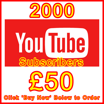 db-B2B-UK 2000_youtube_subscribers_50GBP: Visitor Sales Support Banner