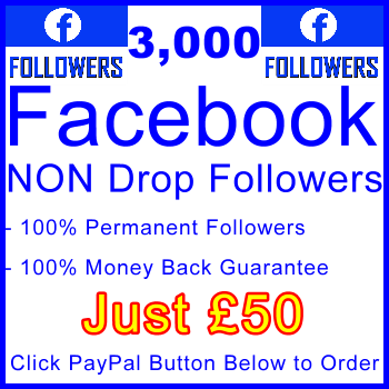 db-B2B-UK 3,000 FB Followers 50GBP: Visitor Support Sales Banner