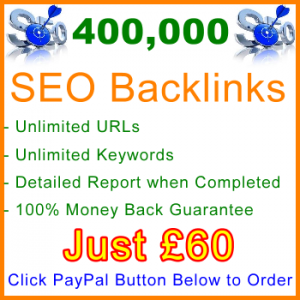 db-B2B-UK 400,000 Backlinks 60GBP: Visitor Support Sales Banner