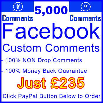 db-B2B-UK 5,000 FB Comments 235GBP: Visitor Support Sales Banner