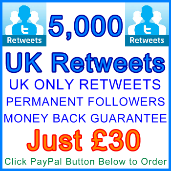 db-B2B-UK 5,000_UK_Retweets_30_gbp: Service Type Sales Support Banner