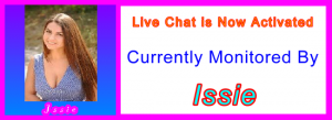 Issie live chat host: Live Chat Support