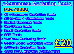 Tools 40 eCommerce Marketing Image: Visitor Sales Information Support Banner