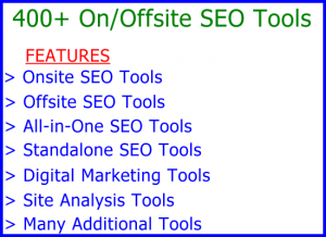 Tools 400 Access: Visitor Sales Information Support Banner