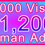 Adult 750,000 Visitors $1200