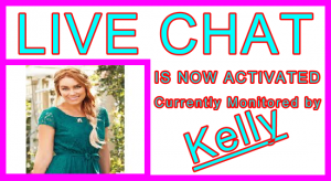 Kelly Live Chat Host: Visitor Live Chat Host Information Support Banner