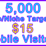 Ste-B-B2B Mobile Visitors 5000 $15