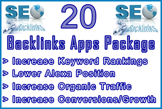 Ste-B-B2B Tools 20 Backlinks Apps: Visitor Sales Information Support Banner