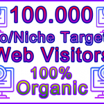 Fiverr SEOClerks 100,000 Web Visitors Banner