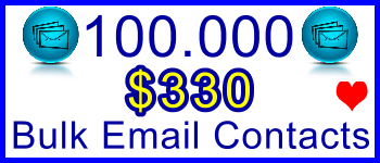 350x100 100,000 Emails 110usd: Client Signup & Sales Support Banner