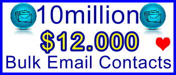 350x100 10 Million Emails 8,750usd: Client Signup & Sales Support Banner Link - Geo and Niche Targeted Bulk Emails