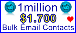 350x100 1 Million Emails 900usd: Sales Support Banner