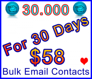 350x300 Emails 30,000 special 30usd: Sales Support Banner Link