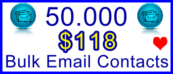 350x100 50,000 Emails 57.50usd: Client Signup & Sales Banner Support Banner Link
