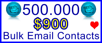 350x100 500,000 Emails 500usd: Client Signup & Sales Support Banner Link