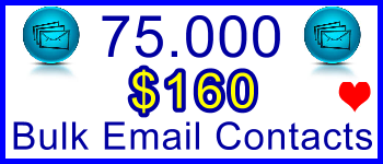 350x100 75,000 Emails 82usd: Sales Support Banner Link