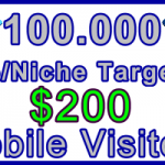 Ste-B-B2B Mobile Visitors 100000 $200