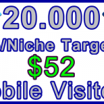 Ste-B-B2B Mobile Visitors 20000 $52