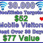 Ste-B-B2B Mobile Visitors 30000 30 days $52