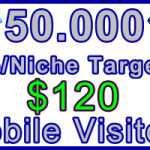 Ste-B-B2B Mobile Visitors 50000 $120