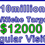 Ste-B-B2B Regular Visitors 10million $12000