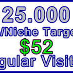 Ste-B-B2B Regular Visitors 25,000 $52