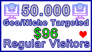 Ste-B-B2B Regular Visitors 50,000 $96: Visitor Sales Information Support Banner