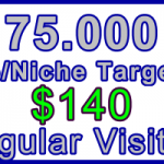 Ste-B-B2B Regular Visitors 75,000 $140