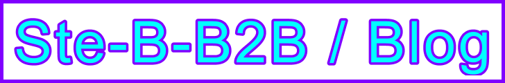 Ste-B-B2B Blog page title: Visitor Page Navigation Information Support Banner