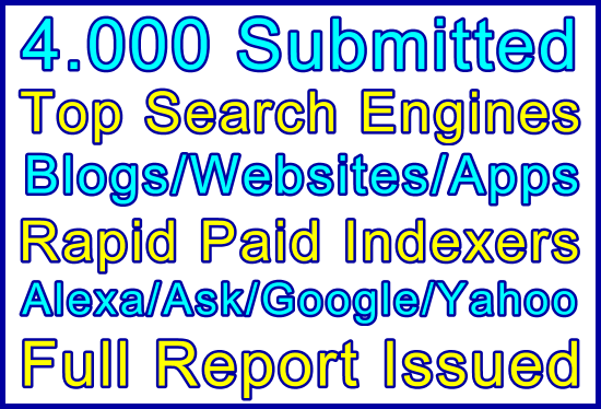 Ste-B-B2B 4000 Search Engines Submitted: Visitor Order Information Support Banner