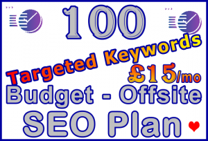 Fiverr SEOCLerks 100 Offsite Ste-B-B2B £15 Visitor Sales Information Support Banner