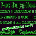 Fiverr SEOClerks Dropship Pet Supplies Banner £697