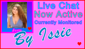 Issie Special Live Chat Host - Visitor Live Chat Support Host Name