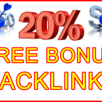 Ste-B2B 20pc Free Bonus Backlinks - Visitor Promotional Offer