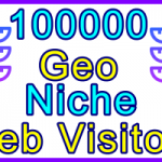 Ste-B2B Web Visitors 100.000 Visitor Sales Banner Information Support Banner