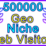Ste-B2B Web Visitors 500.000 Visitor Sales Banner Information Support Banner