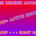 B2B-Ste Free Member Account 35,000 Visitor Signup Area Navigation Support