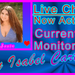 Issie Special Live Chat Host Profile Visitor Information Support Image Banner Blue Rays -