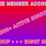 B2B-Ste Free Member Account 45.,000+ Visitor Signup Area Navigation Support